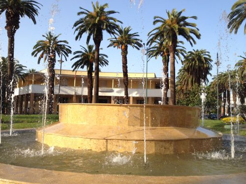 fontaine rond point services municipaux