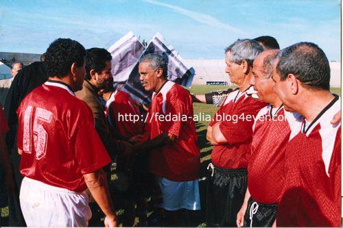 Mr Atouani saluant Fakhar Fatmi