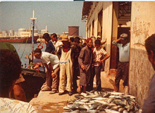 halle aux poissons des années 70