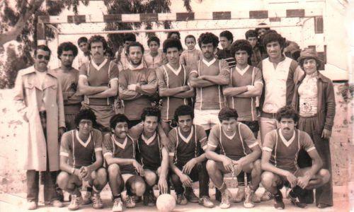 équipe hand-ball 1984