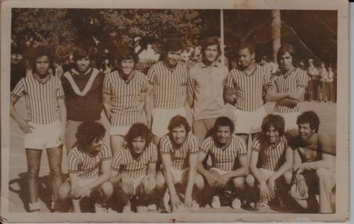 équipe hand ball 1973