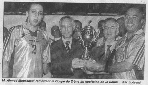 la finale de la coupe 1999-2000 SAMIR