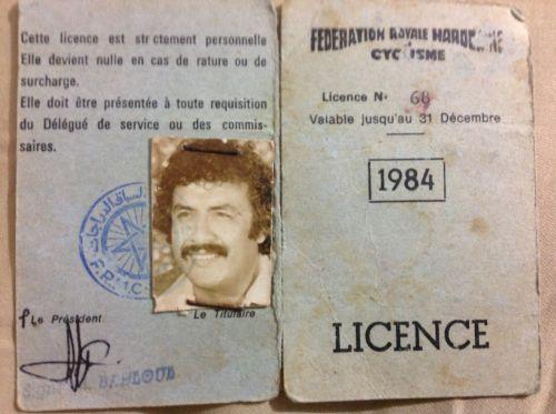 licence joueur 1984