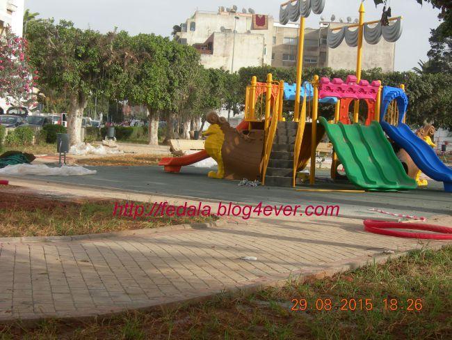 aménagement jardin mosquée Rédouane
