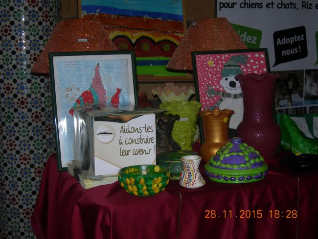 marché de Noel (A.F.M) 28 11 2015