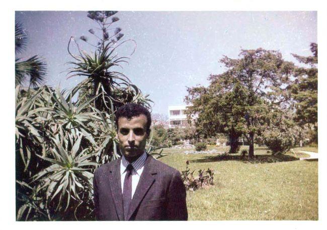 photo   jardin de la gare 1964