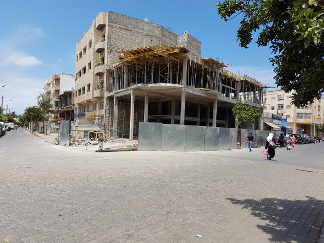 galerie démolie pour construire un immeuble
