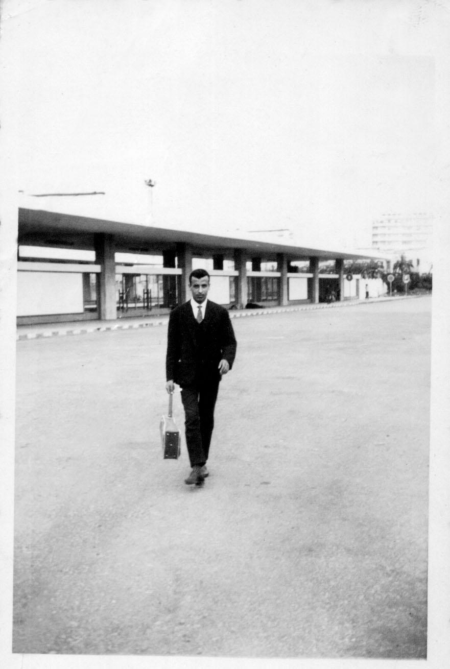 gare casa-port 1962