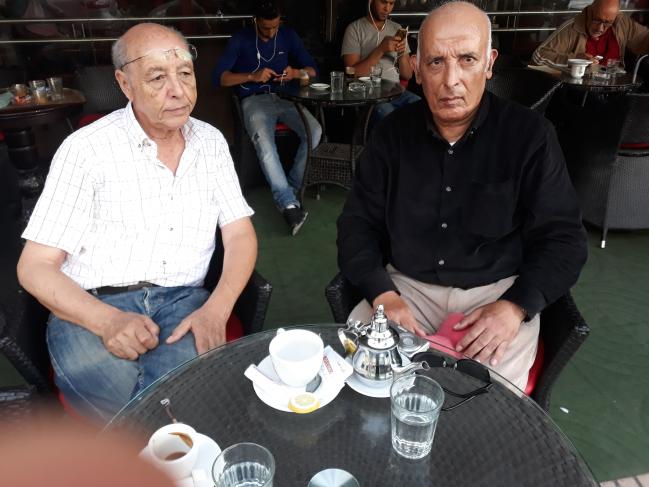 visite d amitié de Monsieur abdeslam BOU_IMEJDIL