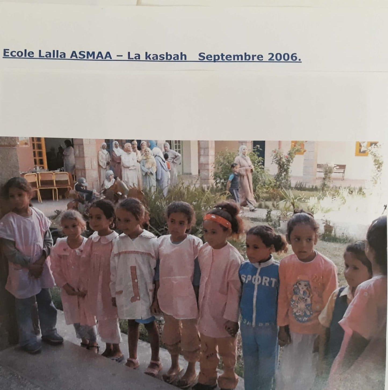école lalla asmaa en 2006