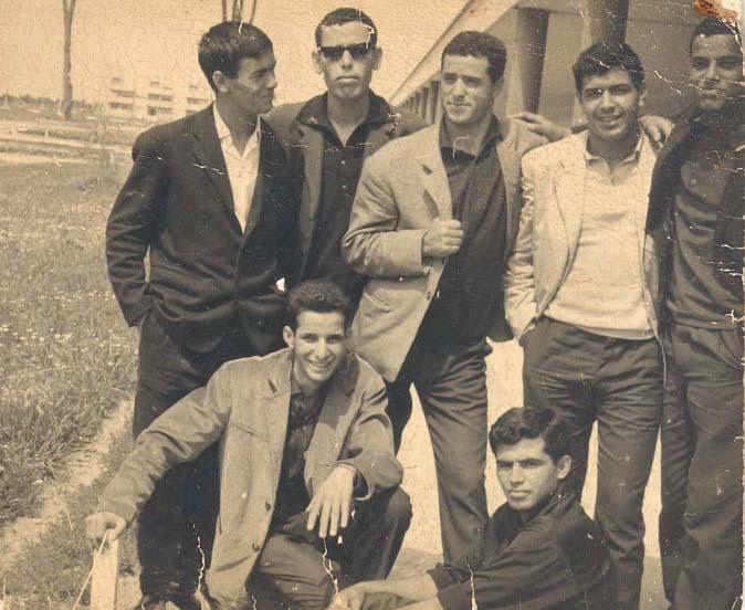 la jeunesse fédalienne 1960
