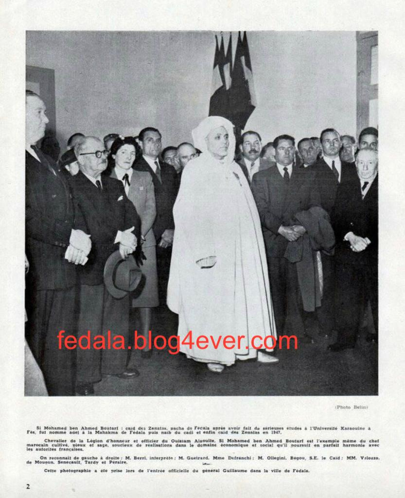 1947 : Si Mohamed ben ahmed Boutarf