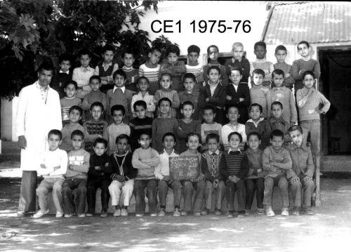 année scolaire 75 76 CE1