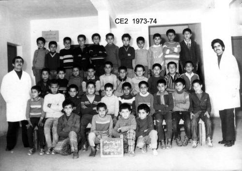 année scolaire 73 74 CE2