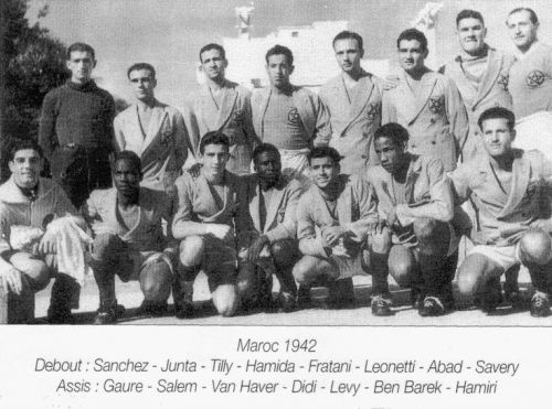 équipe du Maroc 1942