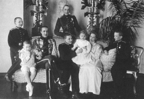 Around 1910 Children of Grand Duke Konstantin Konstantinovich of Russia