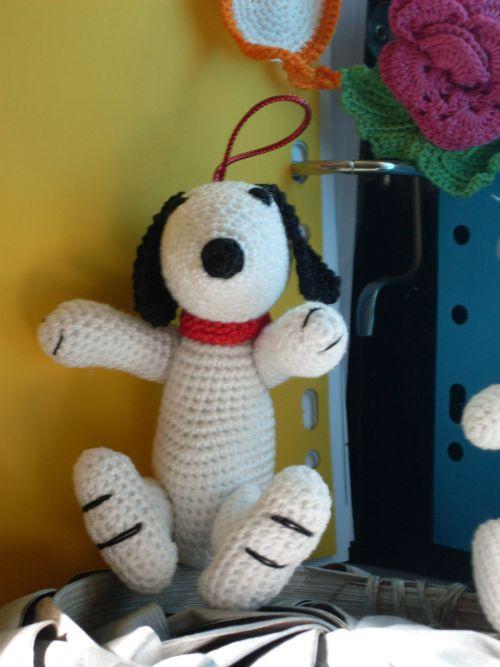 snoopy crochet 1.75