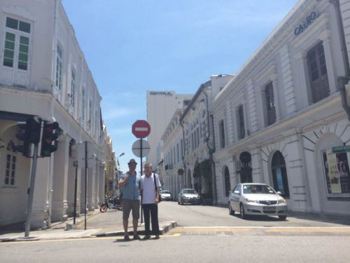 A George Town avec Ong Chongjin
