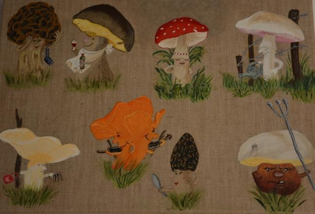 Les champignons humoristiques