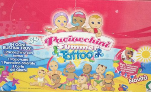 Boite des summer tatoo version edicola