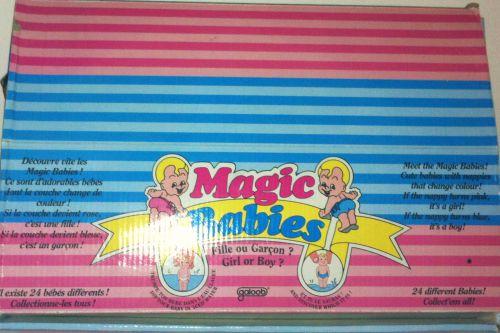 Boite de Magic Babies