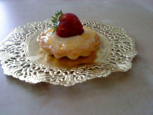 Mini tartelette aux fraises