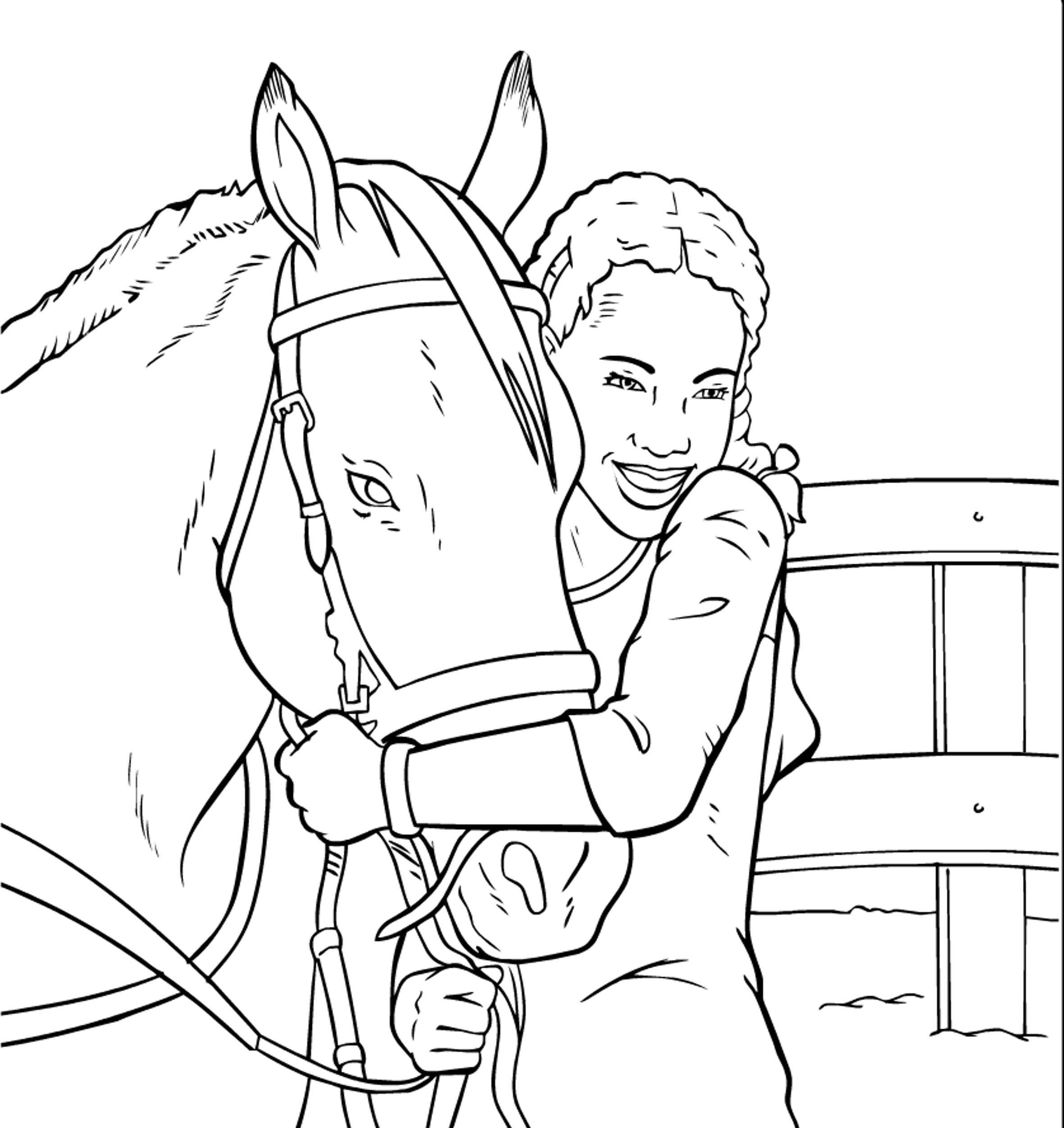 Coloriages Gratuits De La Serie Grand Galop Saddle Club Free
