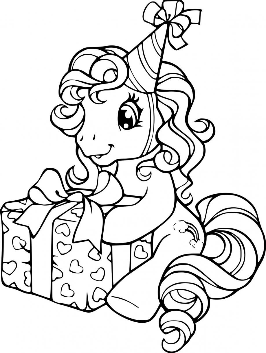 Coloriages Mon Petit Poney Coloring My Little Pony Le Blog Des