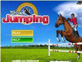 Jeu en ligne cheval gratuit Show Jumping free Horse Game online