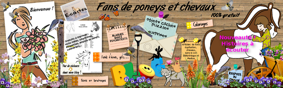 Le blog des fans de poneys et de chevaux