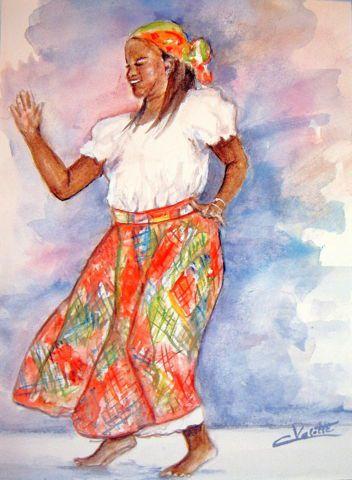 Danseuse créole