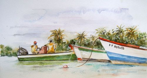 Pêcheurs à Tartane