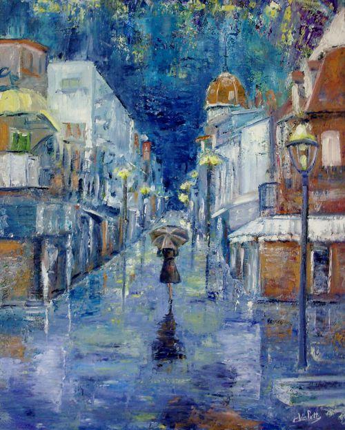 RAIN & BLUES