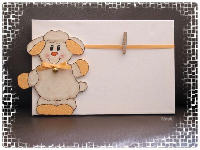 accroche photo mouton