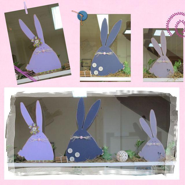 trio lapins
