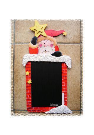 Ardoise Père Noël