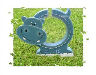 Tirelire hippo