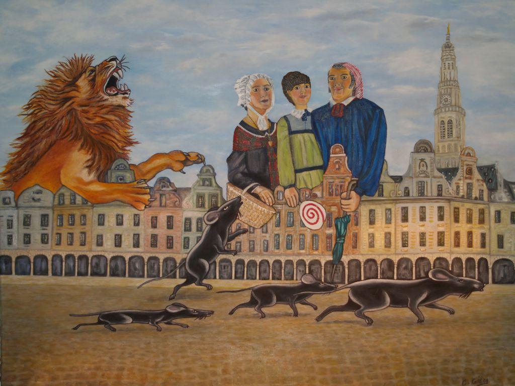Peintures de claudine gieza artistes peintres sculpteurs for Artiste peintre arras