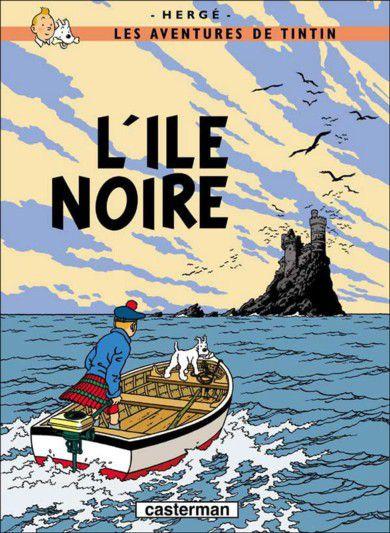 L'île noire - Tintin