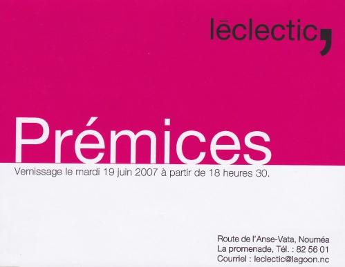 Prémices Leclectic 2007.jpg