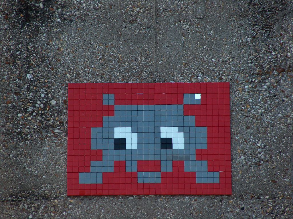 Paris 18 me arr space invaders - 6 avenue de la porte de la chapelle 75018 paris ...