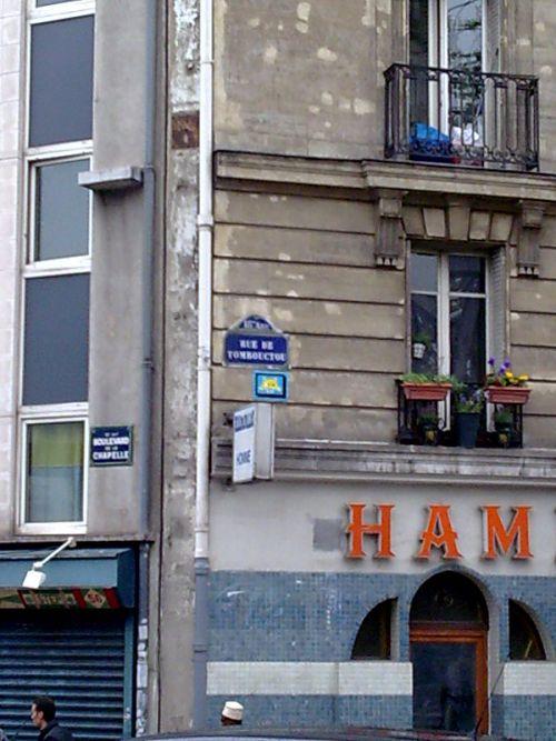 Rue de tombouctou 75018