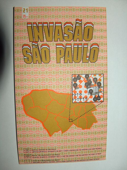 Invasion Map - Sao Paulo