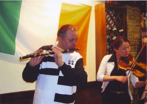 La Saint Patrick à Oulan Bator ! 2004