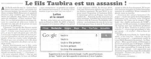 Les rumeurs du Net font foi dans le dos 3 Le fils de Taubira est un assassin.jpg