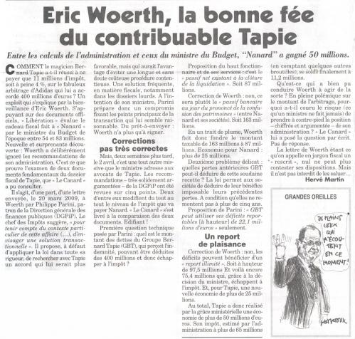 Eric Woerth la bonne fée du contribuable Tapie.jpg