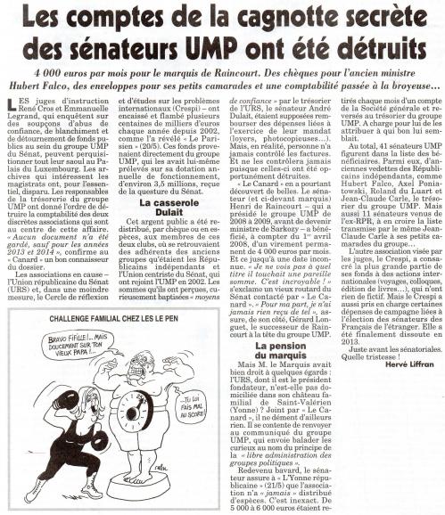 Les comptes de la cagnotte secrète des sénateurs UMP ont été détruits.jpg