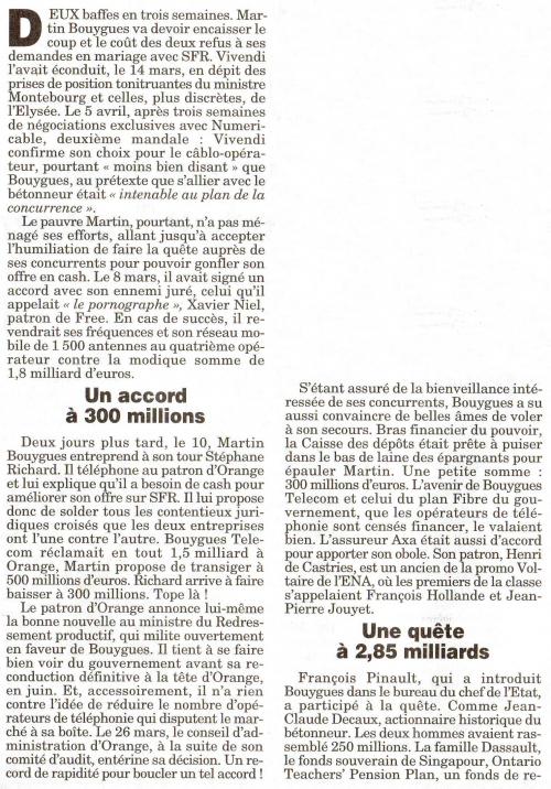 L'aide secrète d'Orange à Bouygues pour racheter SFR à Vivendi 1.jpg