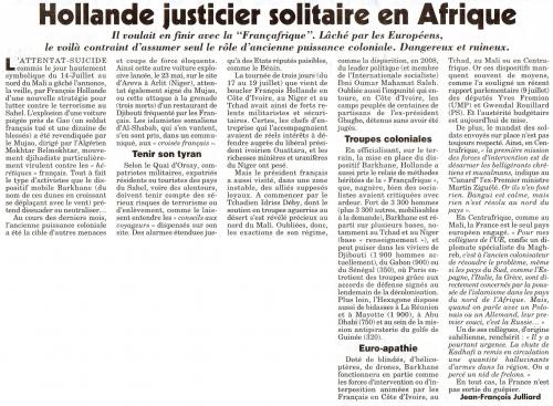 Hollande justicier solitaire en Afrique.jpg