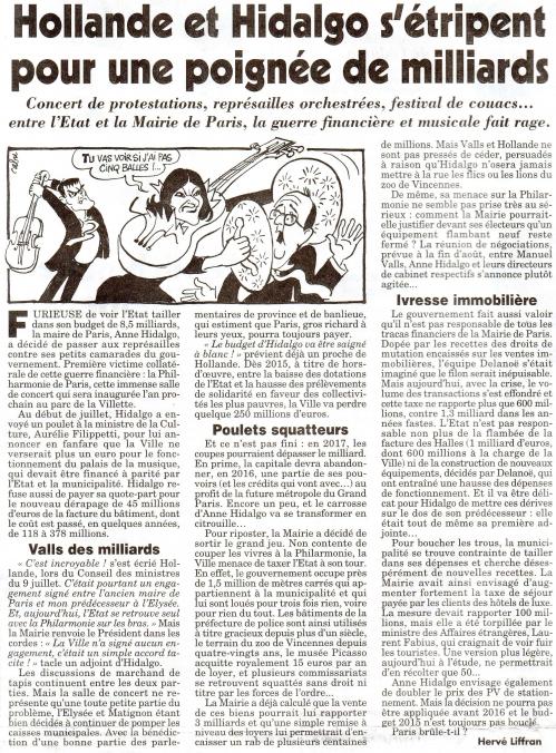 Hollande et Hidalgo s'étripent pour une poignée de milliards.jpg